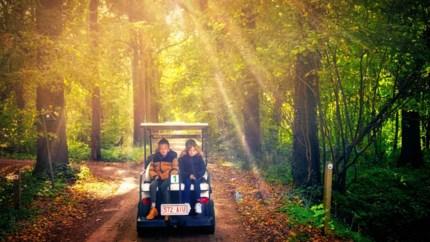GETEST. Zoef met een golfkar langs de mooiste plekjes van Bilzen