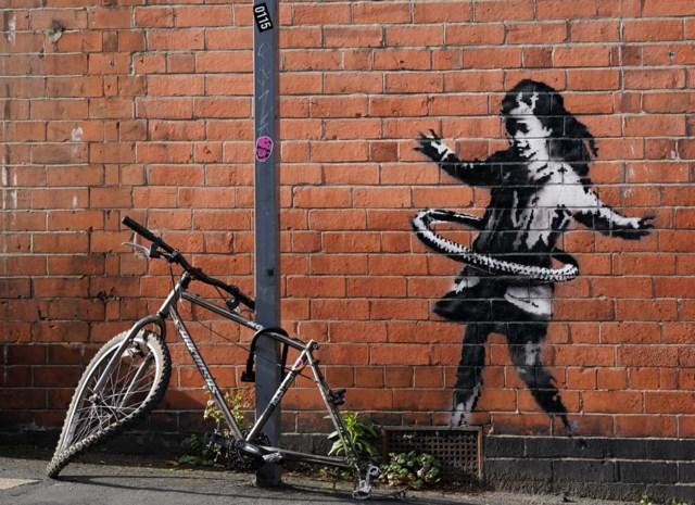 """Banksy claimt muurschilderij in Nottingham: """"Een atypisch kunstwerk"""""""