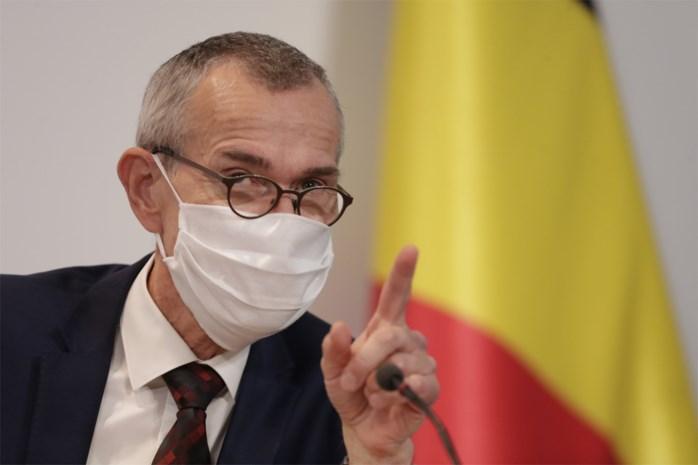"""Minister van Volksgezondheid Frank Vandenbroucke (SP.A): """"In de ziekenhuizen staan wij aan de rand van een drama"""""""