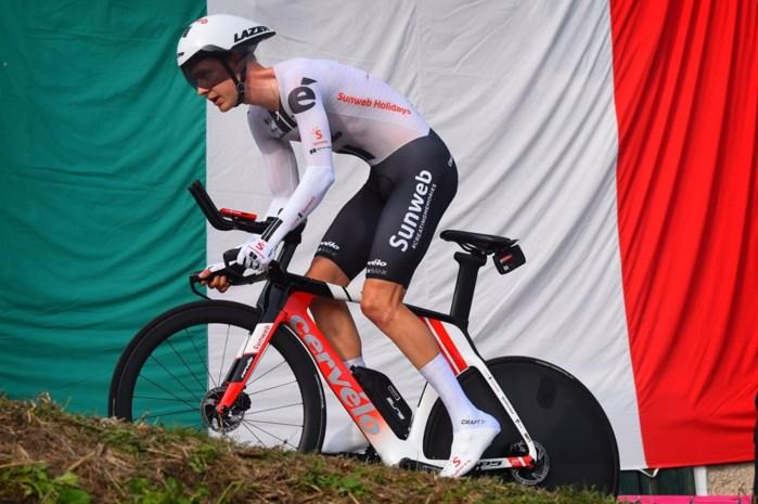 De ravage in het Giro-klassement na de tweede tijdrit: enkel Kelderman op minder dan twee minuten van Almeida