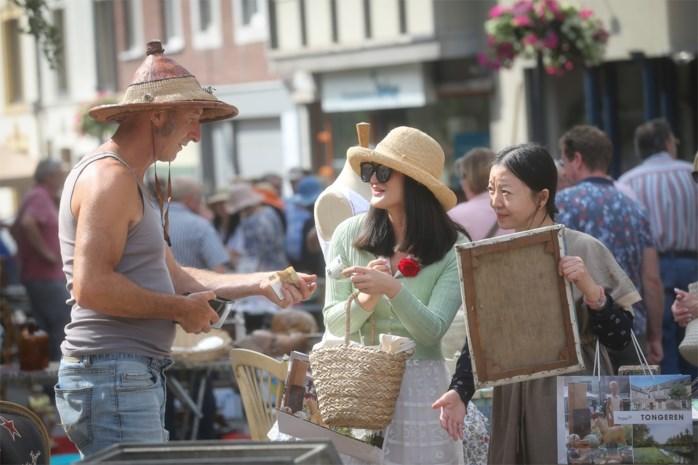Tongerse antiekmarkt van zondag afgelast