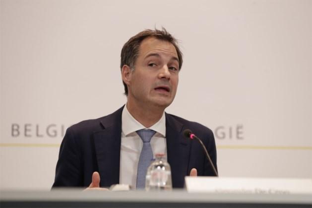 """Premier Alexander De Croo: """"Virus is de vijand, niet de Franstaligen"""""""