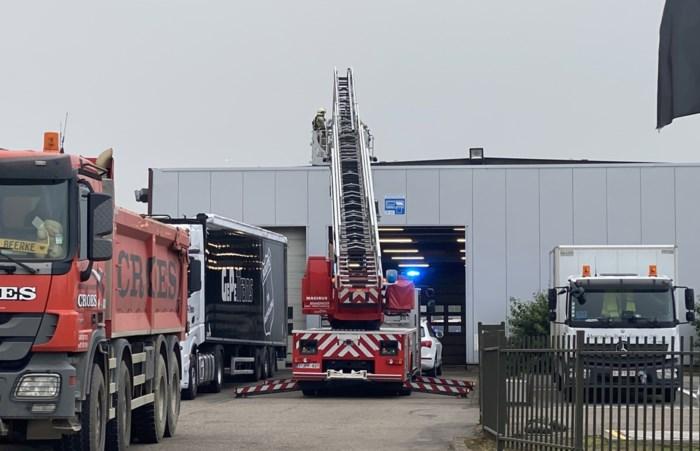 Probleem met verwarmingsketel zorgt voor rookontwikkeling bij Truiense garage