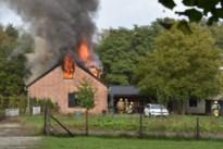 Uitslaande zolderbrand in huis in Heppen