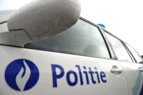 Venster in geslagen in station van Heusden-Zolder