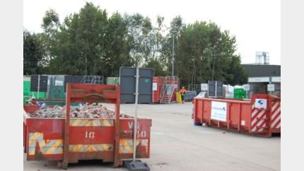Winteruur-regeling in recyclagepark