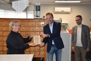 HIB label voor Juweelcreaties Diane Pacholski