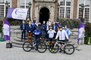 Tour of Hope-fietsers ontvangen in Hasselt