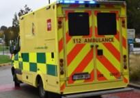 27-jarige gewond na kop-staartbotsing