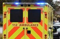 20-jarige gewond na kop-staartbotsing