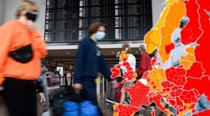 Reisadviezen aangepast: Frankrijk kleurt volledig rood