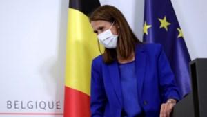 Vicepremier Sophie Wilmès ligt op intensieve zorgen