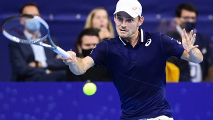 European Open in Antwerpen weer geen succes voor David Goffin