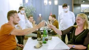 Huwelijksaanzoek in 'Mijn keuken mijn restaurant'