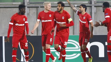 Antwerp levert beste seizoensprestatie af in Europese opener tegen Ludogorets