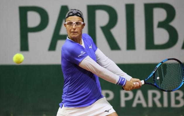 Kirsten Flipkens kan achtste finales niet halen in dubbeltoernooi Roland Garros, ook Van Uytvanck en Minnen uitgeschakeld