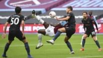 West Ham-spits scoort met lekkere omhaal tegen Manchester City