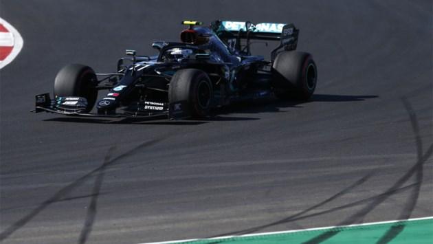 Valtteri Bottas is ook in derde oefensessie de snelste in Grote Prijs van Portugal