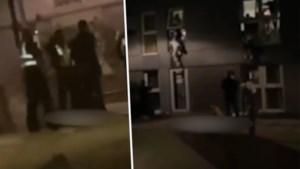 Studenten springen uit raam wanneer politie opduikt tijdens lockdownfeestje