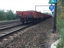 Losgeslagen goederenwagons botsen tegen passagierstrein in Hasselt: geen gewonden