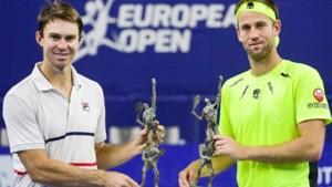 John Peers en Michael Venus winnen dubbelspel op European Open in Antwerpen