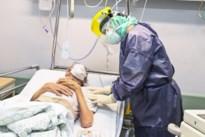 Aantal ziekenhuisopnames klimt tot op een na hoogste cijfer