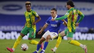Trossard en Brighton kunnen niet winnen van West Bromwich