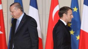 Turkse president roept op om Franse producten te boycotten