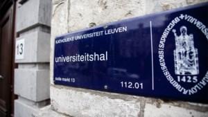"""KU Leuven naar """"werkwijze à la code rood"""" vanaf 3 november tot Kerst"""
