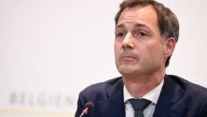 """Premier De Croo: """"Mogen ons land niet laten verdelen in strijd tegen het virus"""""""