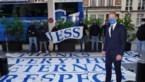 Gentse fans verrassen Jess Thorup met spandoek