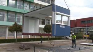 Ziekenhuis Weert plaatst noodunits voor ingang