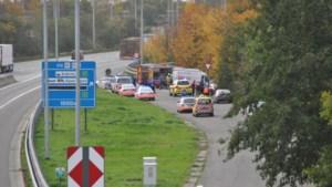Dodelijk ongeval met spookrijdende inbrekers op E19 in Machelen