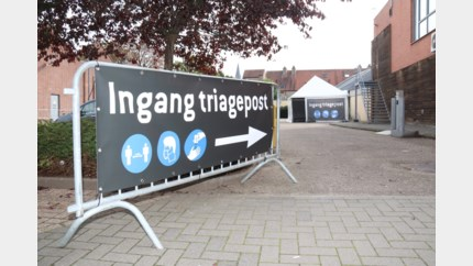 Triagecentrum op 't Stift is winterproof