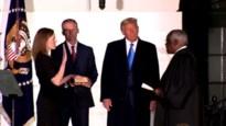 Amy Coney Barrett legt eed af als rechter aan Amerikaans Hooggerechtshof