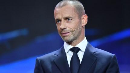 """UEFA kant zich resoluut tegen Europese Superliga: """"Zou saai worden na een tijd"""""""