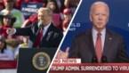 """President Trump klaagt over doofpot rond Joe Biden: """"Hij is een corrupte politicus"""""""