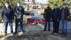 Bloemen voor burgerslachtoffers in Azerbeidzjan