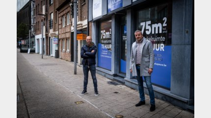 Thomas Buffel opent gloednieuwe winkel en verkoopt 'Roger Vandamme' en 'Peppe'