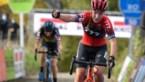 Annemarie Worst is Lucinda Brand net te snel af op de Koppenberg