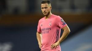 Eden Hazard voor het eerst na blessure weer in de basis bij Real Madrid