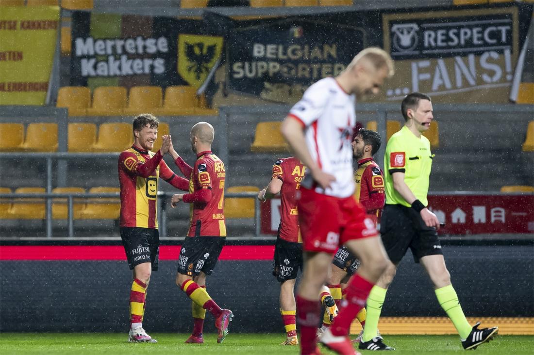 KV Mechelen doet na 4-2-zege toch weer mee voor play-off 2