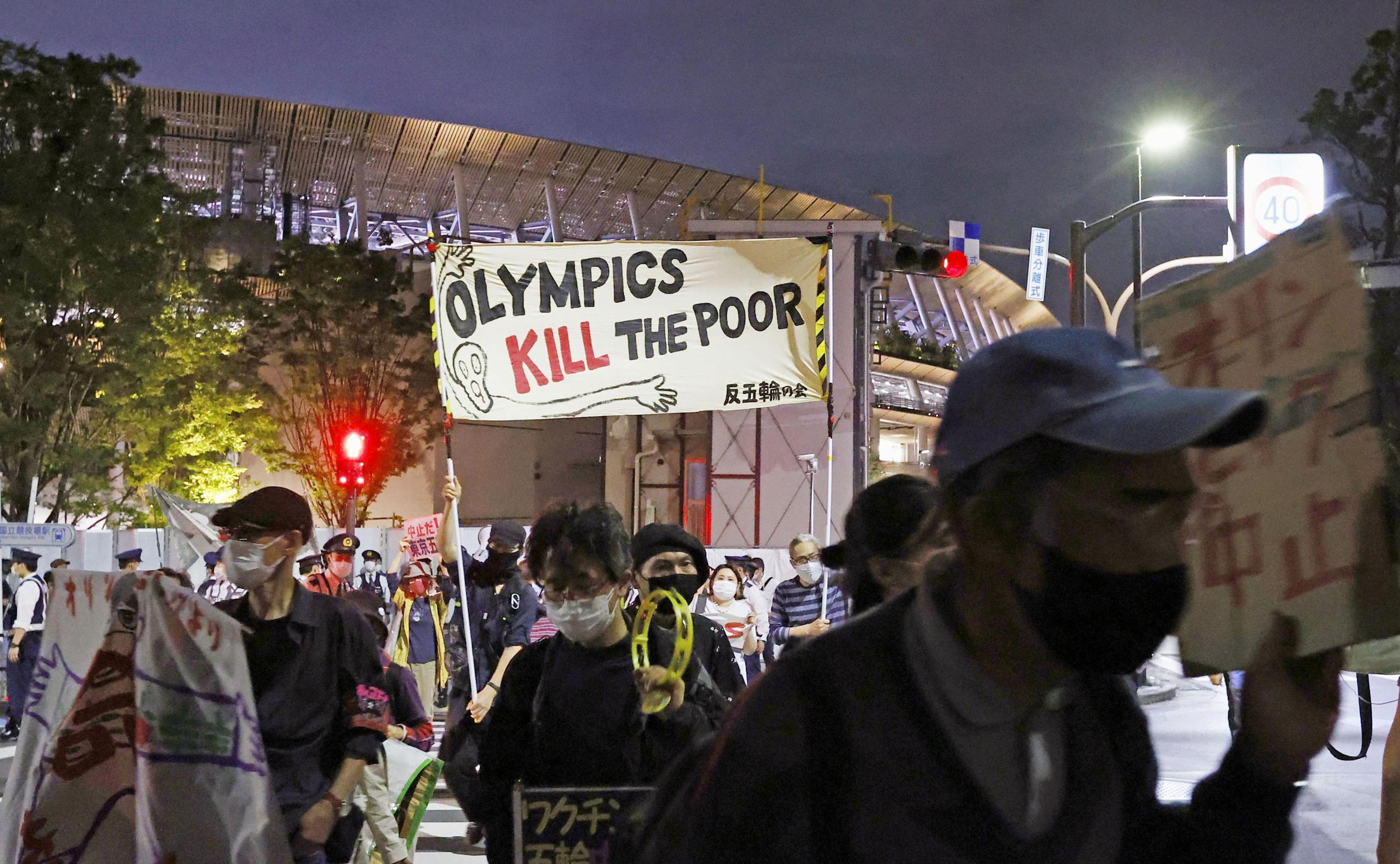 In Japan groeit verzet tegen Spelen in Tokio