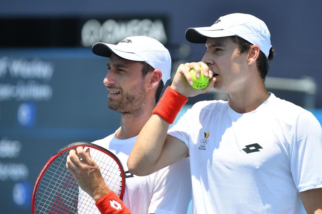 Gillé en Vliegen opnieuw aan de bak op tenniscircuit na vroege olympische exit