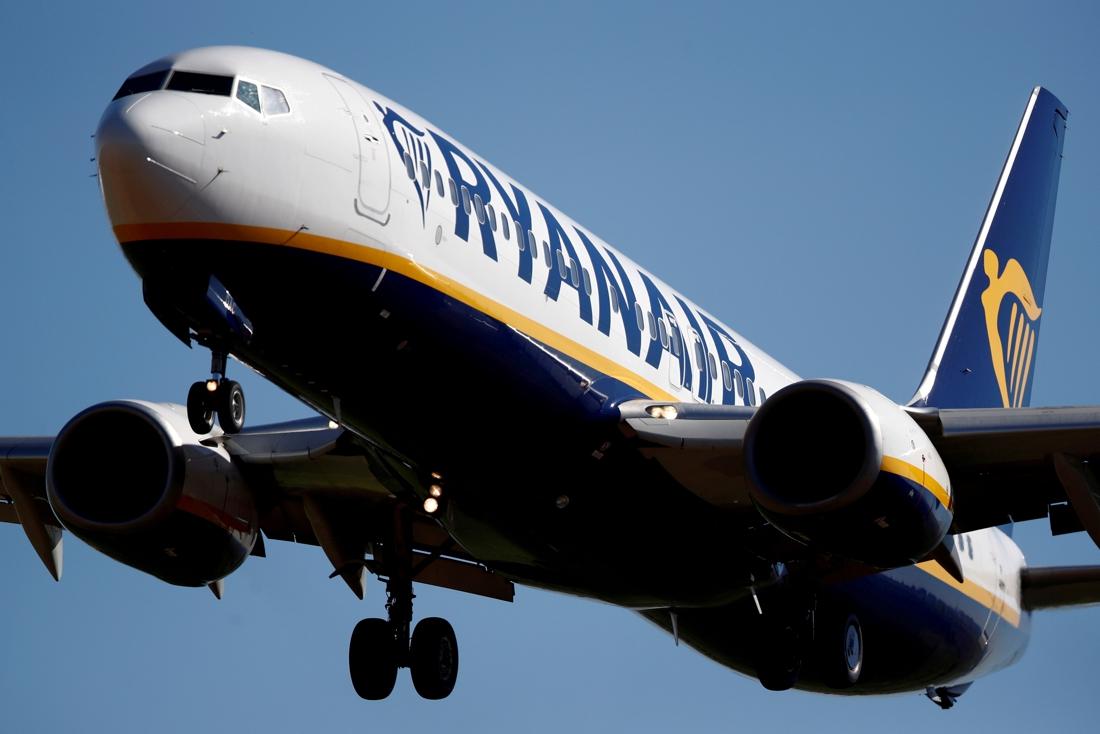 Ryanair vervoerde in juli dubbel zoveel passagiers als jaar voordien