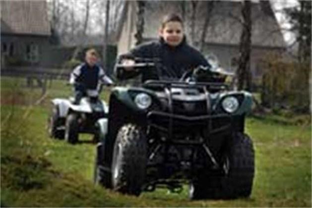 Make-a-Wish schenkt quad aan jongen uit Hamont