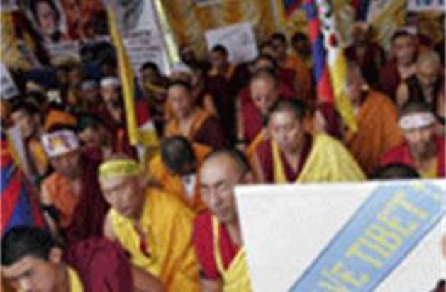 Amnesty International betoogt voor mensenrechten in China