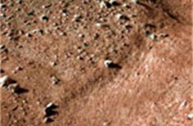 Historische nieuwe beelden van Mars