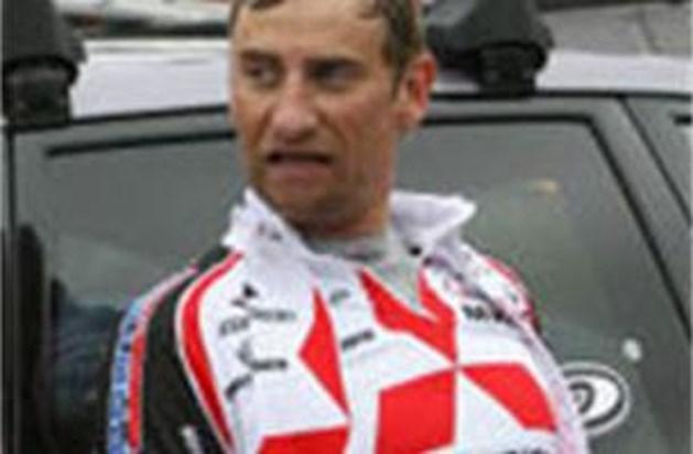 Frank Vandenbroucke duikt plots op in dernywedstrijd