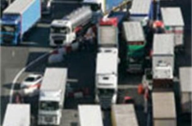 Nederlandse truckers toeteren voor lagere dieselprijzen